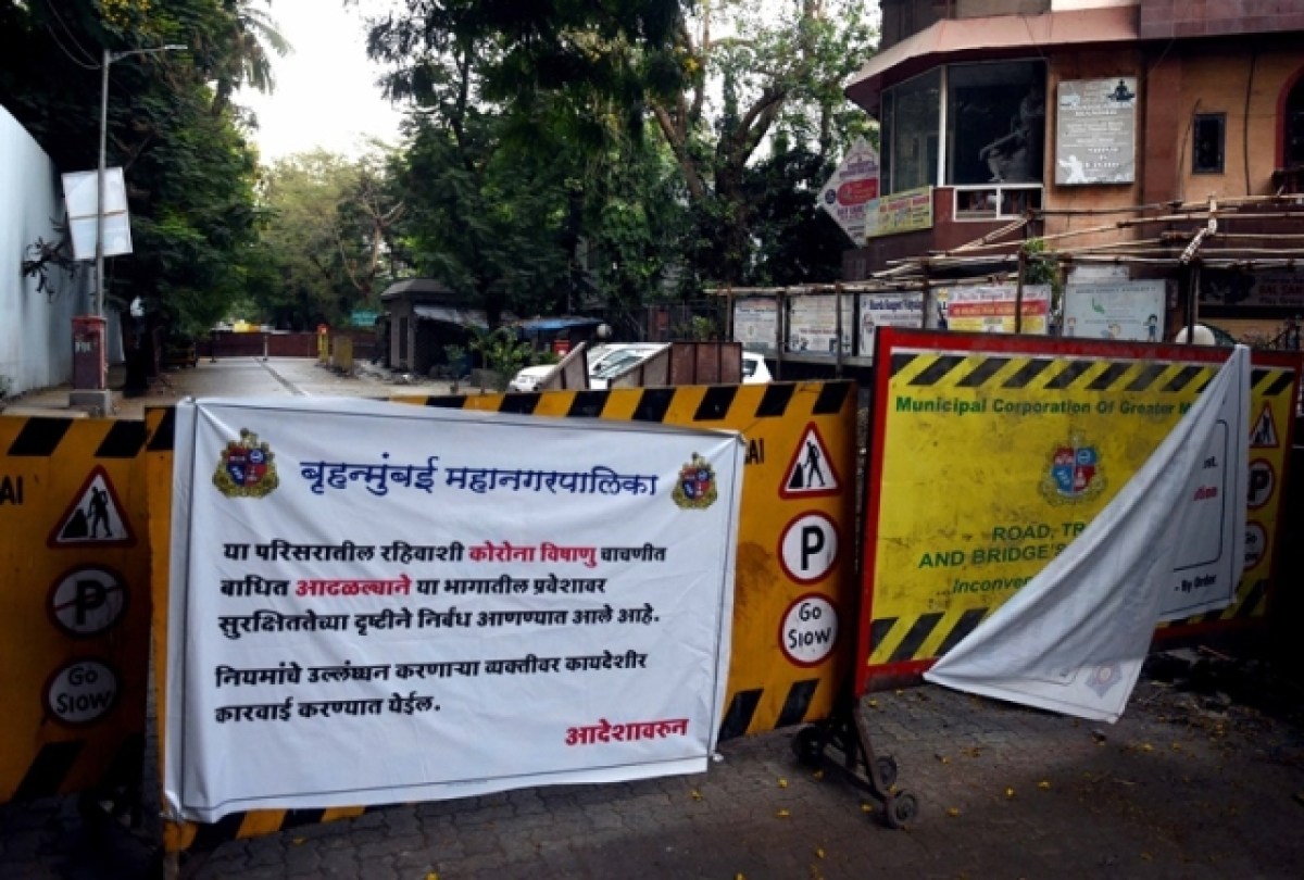 Three cops stationed outside Matoshree contract virus