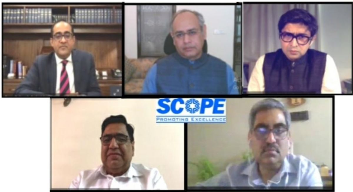 SCOPE holds a webinar on Arbitration and Future of Virtual Hearings