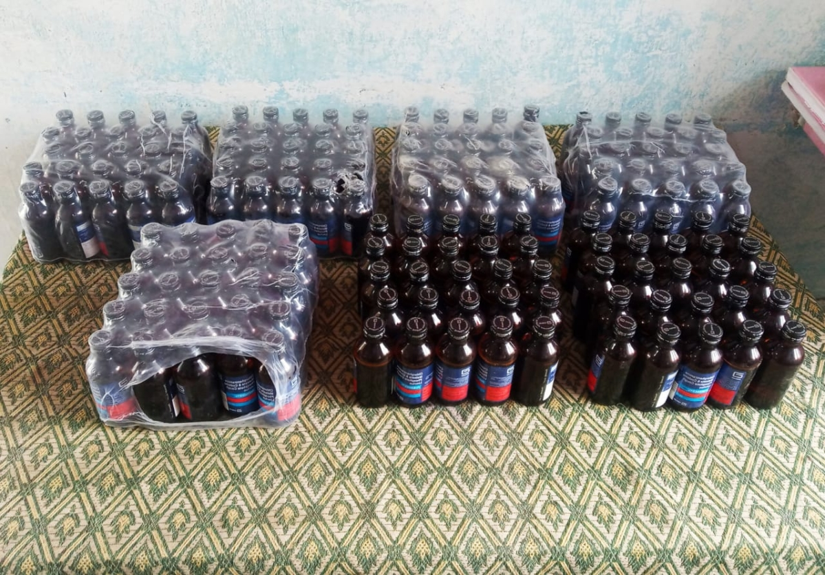 BSF troops thwart the smuggling of Phensedyl along India-Bangladesh border; seizes bottles worth over Rs 1,00,000