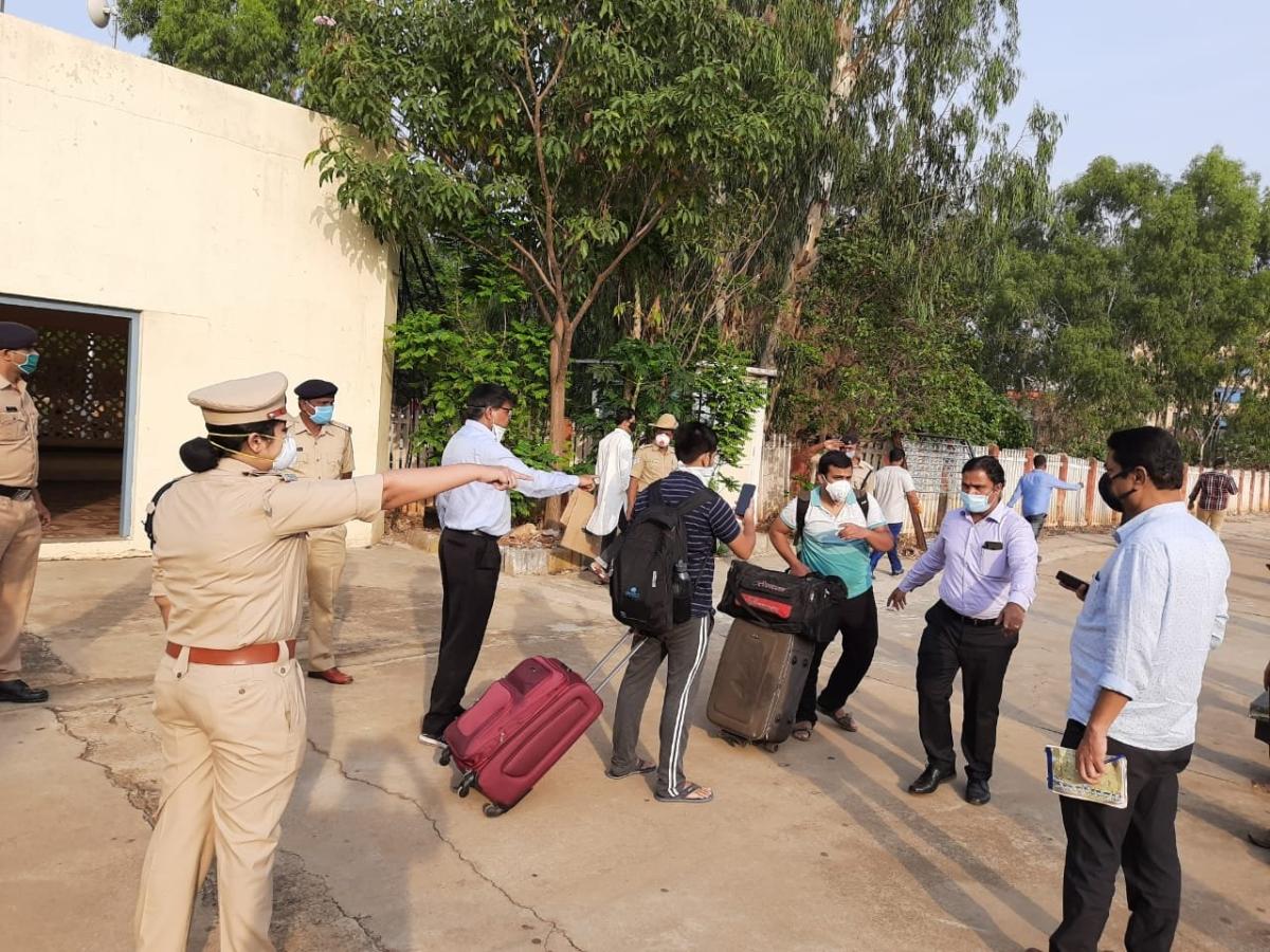 Migrant workers stranded in Karnataka