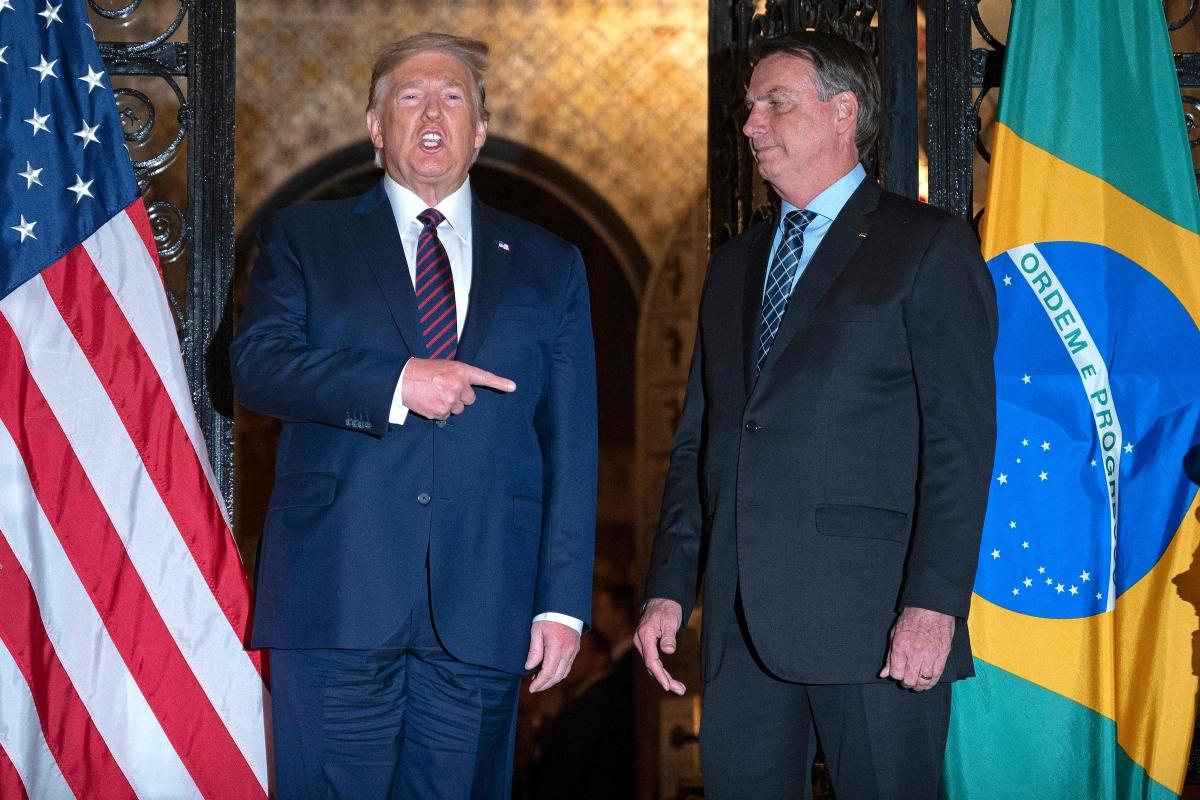 US President Donald Trump bans travel from Brazil due to coronavirus