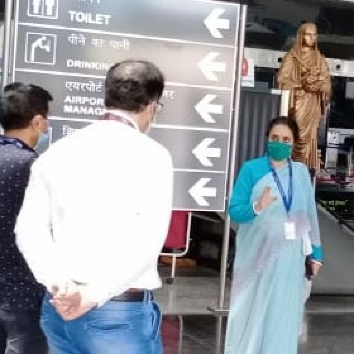 Indore aiport conducts drill on post-coronavirus aviation experience