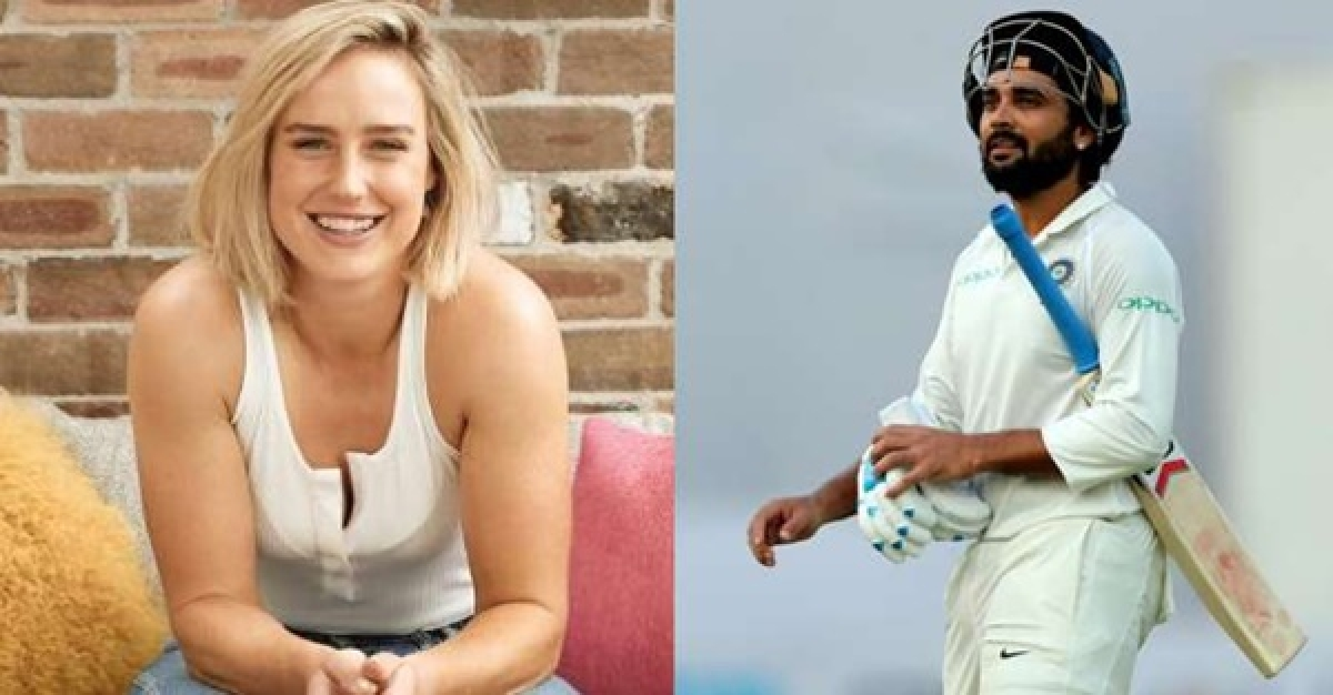 Ellyse Perry's counter-query to Murali Vijay