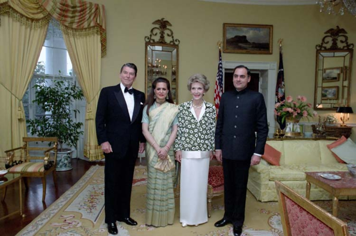 The Gandhis and Reagans
