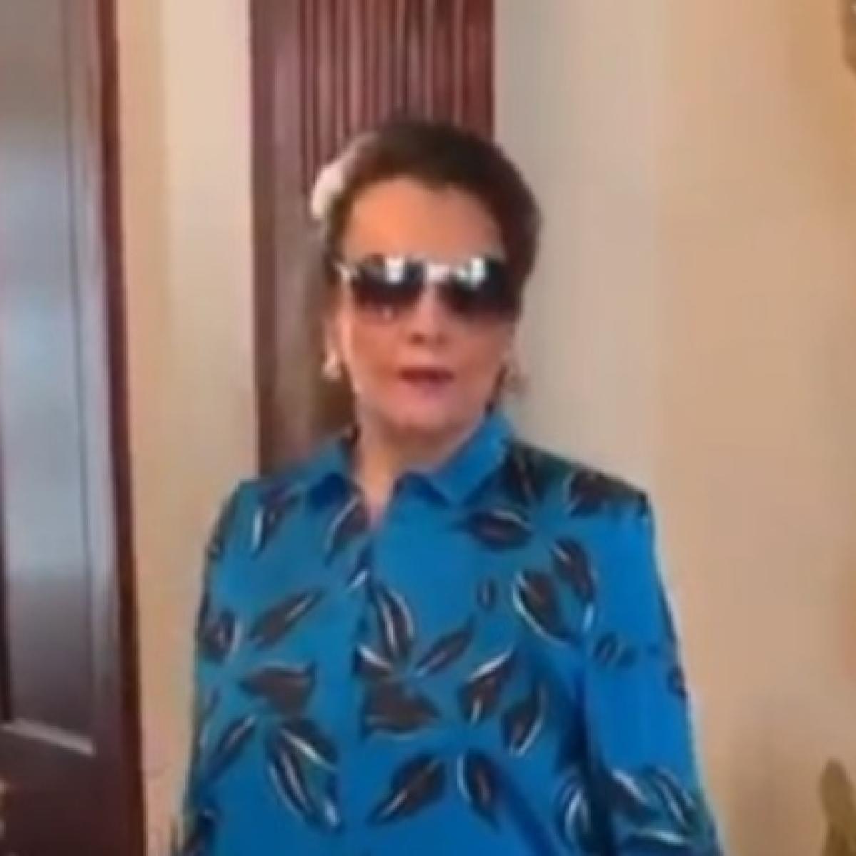 Watch: Veteran Actress Mumtaz slams death hoax in viral video, says 'See? I'm not dead!'