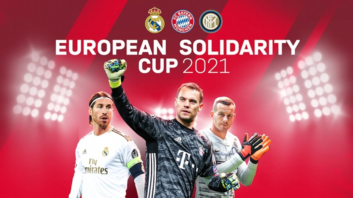 Inter Milan, FC Bayern & Real Madrid to co-host 'European Solidarity Cup' in 2021
