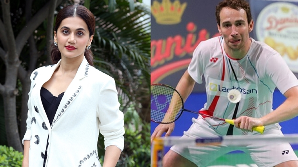 Taapsee Pannu reveals what her family thinks of her dating Danish badminton player Mathias Boe