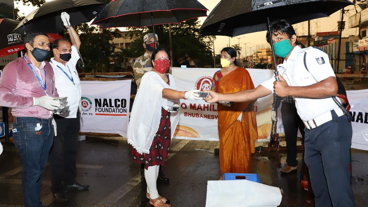 Nalco's Good Samaritans come forward to help Covid Warriors