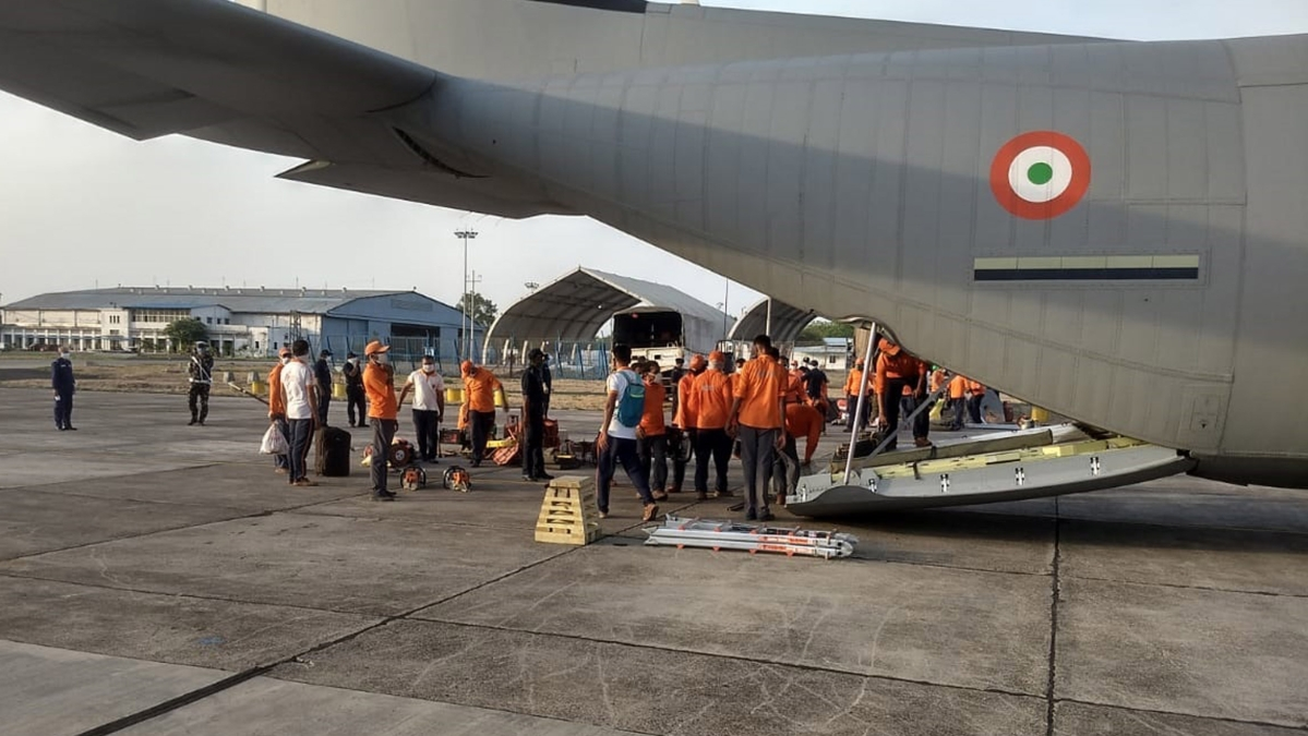 Cyclone Amphan: IAF continues to be on a high state of preparedness for relief operations