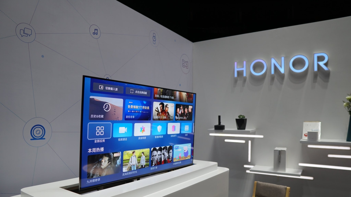 New Honor smart TV to change contrast, colorus based on content