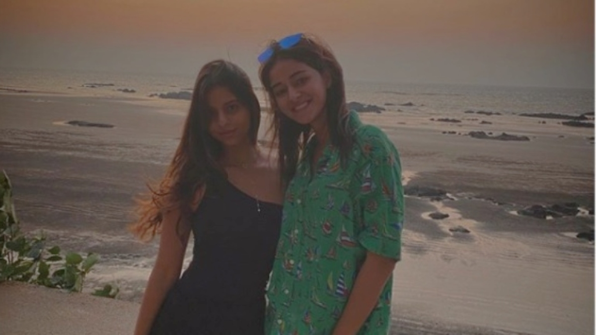 Suhana Khan turns 20, BFF Ananya Pandey wishes diva with throwback pic
