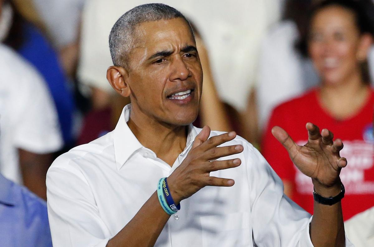 Barack Obama takes a jab at US President Donald Trump