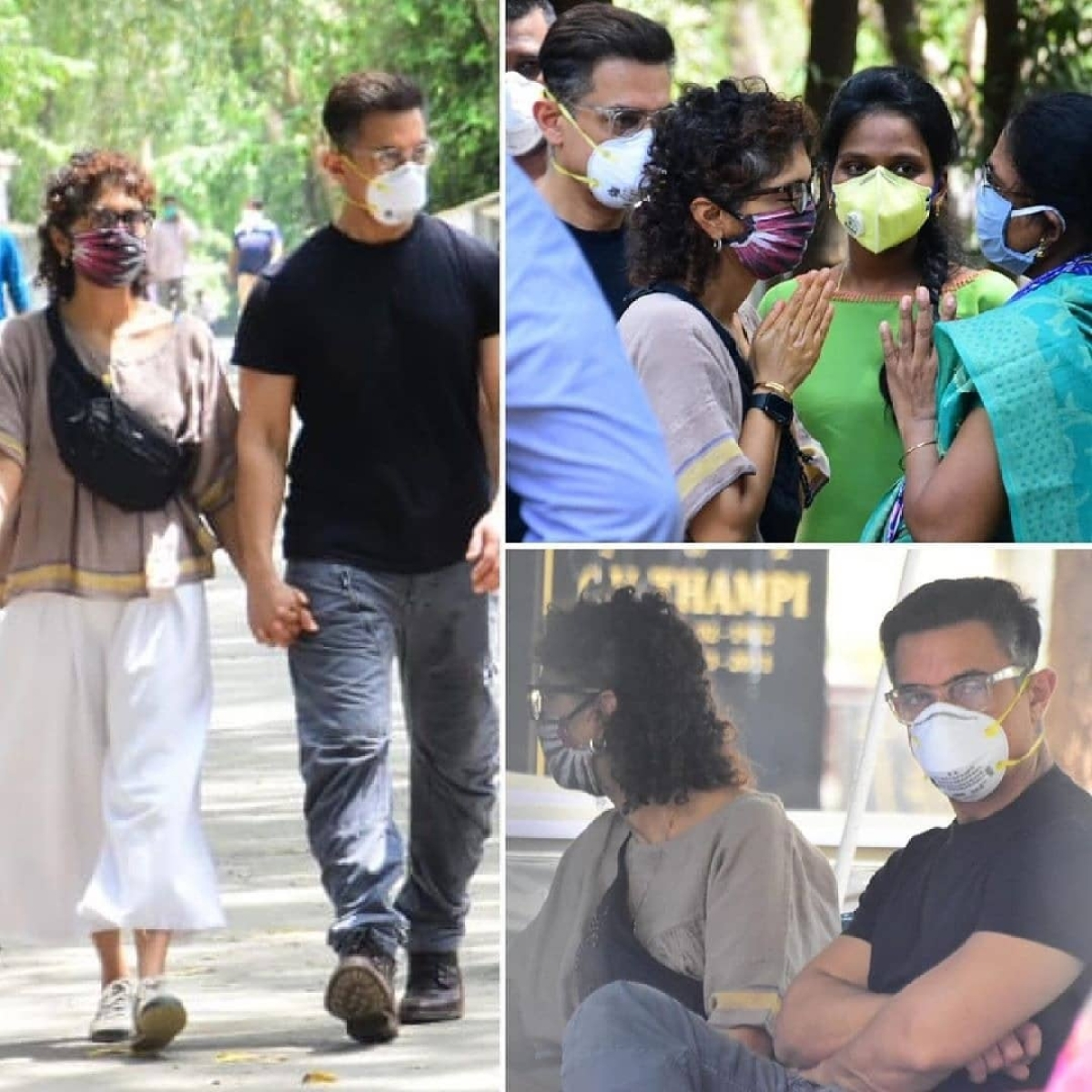 In Pics: Funeral of Aamir Khan's longtime assistant Amos held at Mumbai