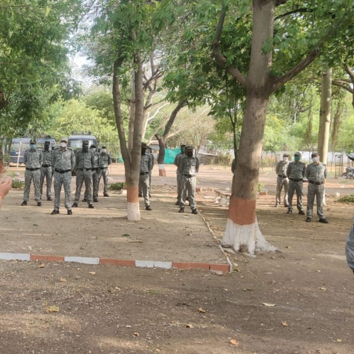 Indore: Quick reaction force company ready to deal with any situation, says IG Vivek Sharma