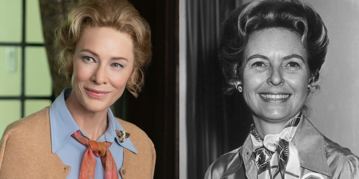 Cate Blanchett plays Phyllis Schlafly in Mrs. America