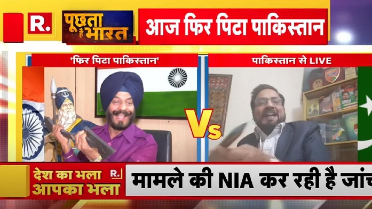 Journalism or TikTok video? Republic TV's Indo-Pak 'prop war' amid LIVE debate leaves Twitterati in splits