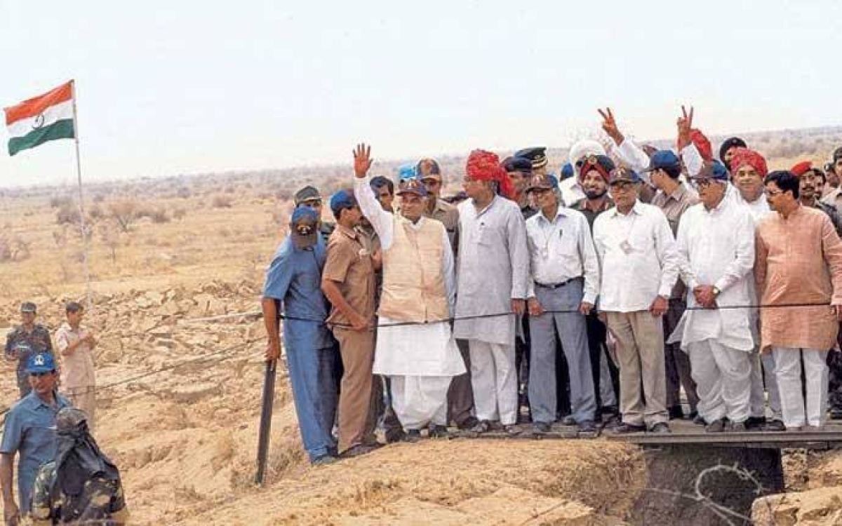 On this day in 1998, we proudly celebrated the success of Operation Shakti when India successfully conducted three nuclear tests in Pokhran