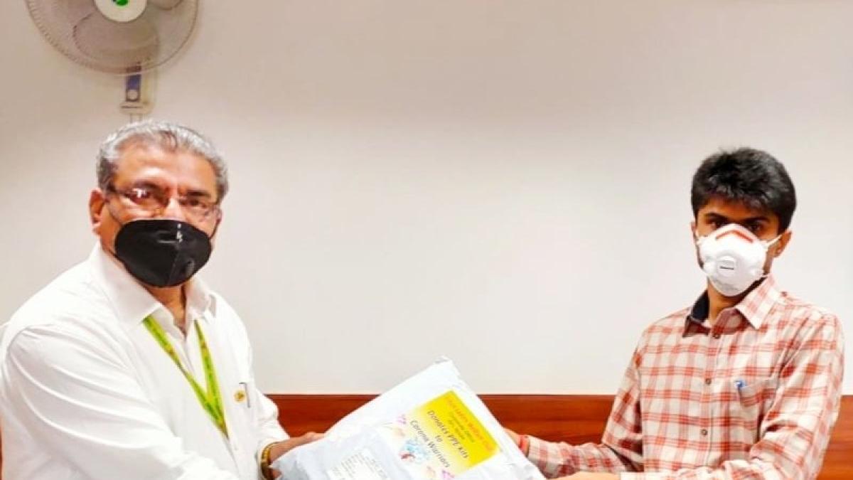 Ladies Club of NFL distributes PPE kits to District Administration Gautam Buddha Nagar