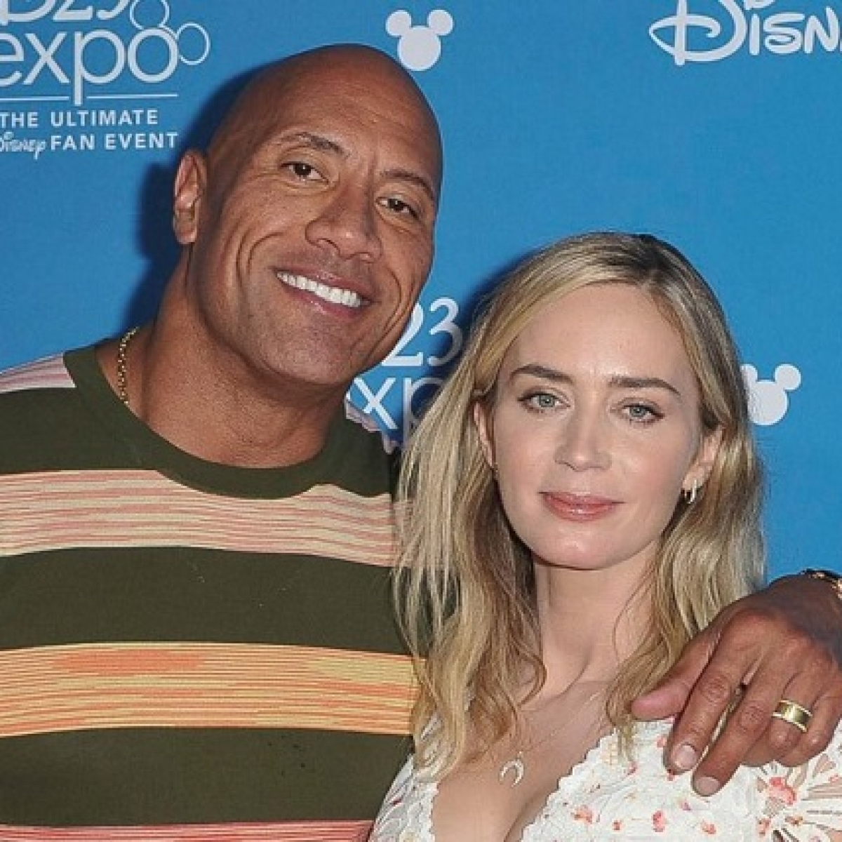 Emily Blunt, Dwayne Johnson to star in superhero film 'Ball and Chain'