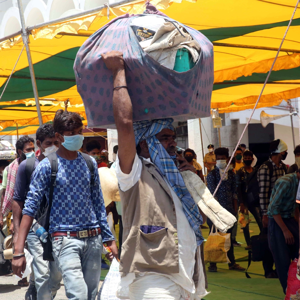Bhopal: Miasma of uncertainty, confusion still hangs in air as labourers migrating and corona patients' number increasing