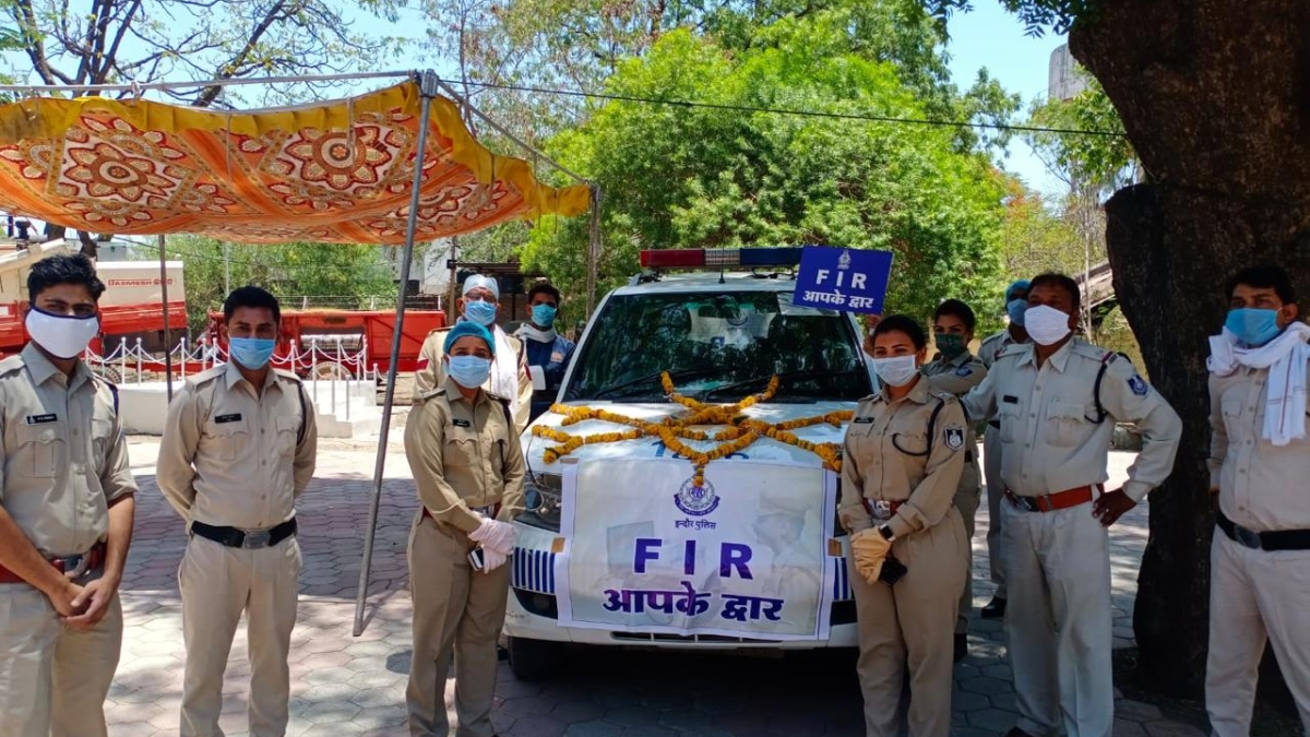 Indore: Two FIRs lodged by cops at doorstep under 'FIR Apke Dwar' scheme on first day