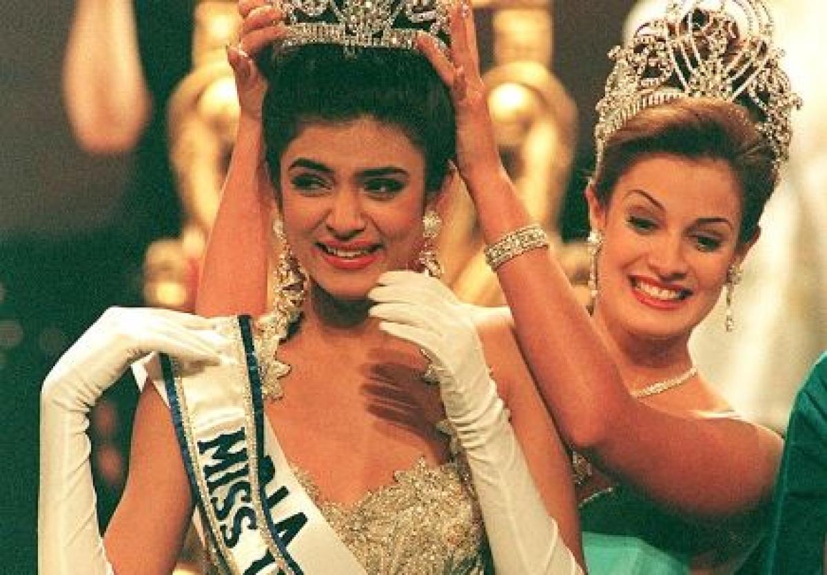 Sushmita Sen completes 26 years of Miss Universe win
