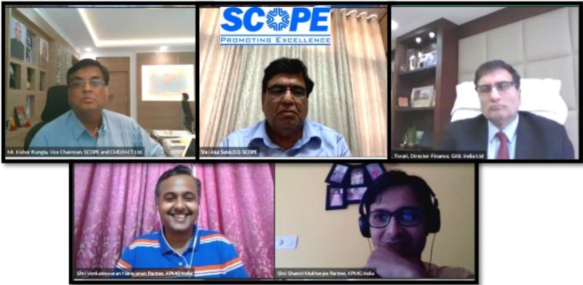 SCOPE holds an interactive webinar on Financial Planning and Liquidity Management