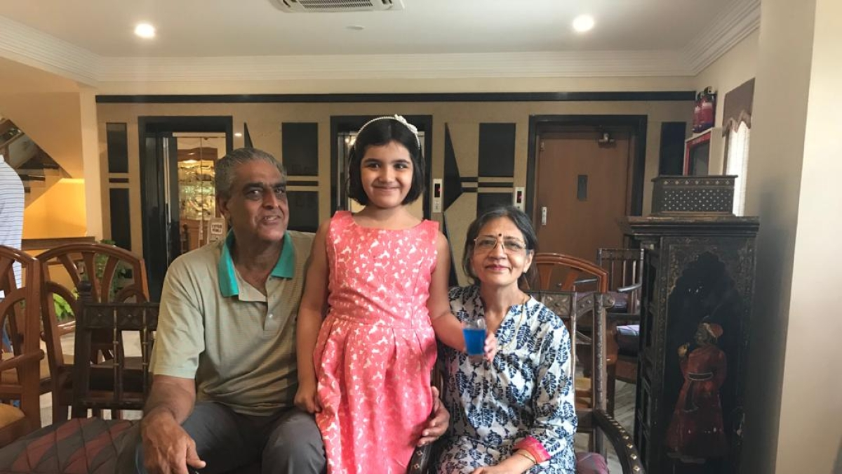 Sanjay Jagdale with his family