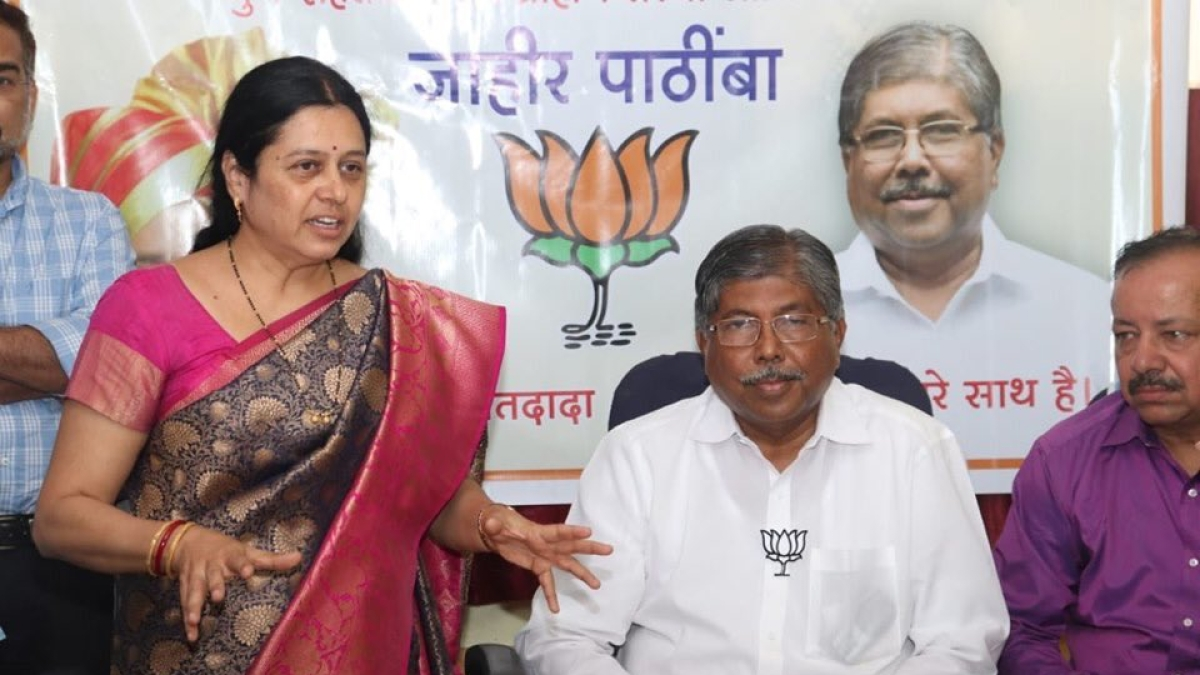 BJP leader Medha Kulkarni reduced to tears after party goes back on its word to give her a MLC ticket
