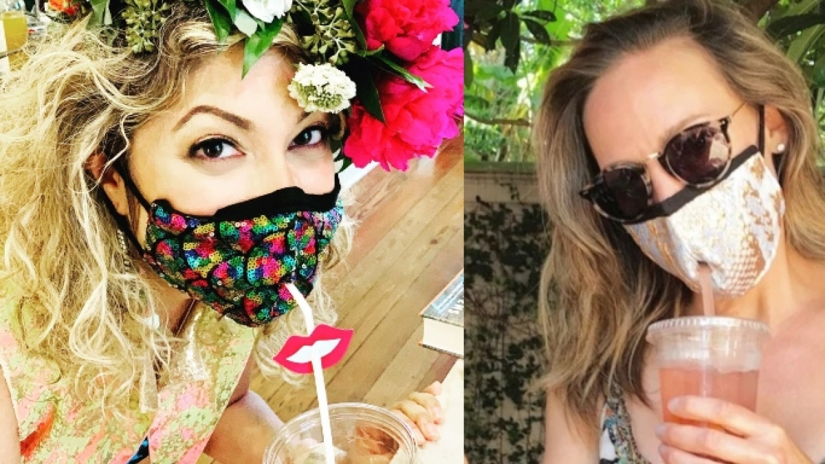 'Condoms with a hole to urinate': Social media irked by facemasks with straw hole for cocktails