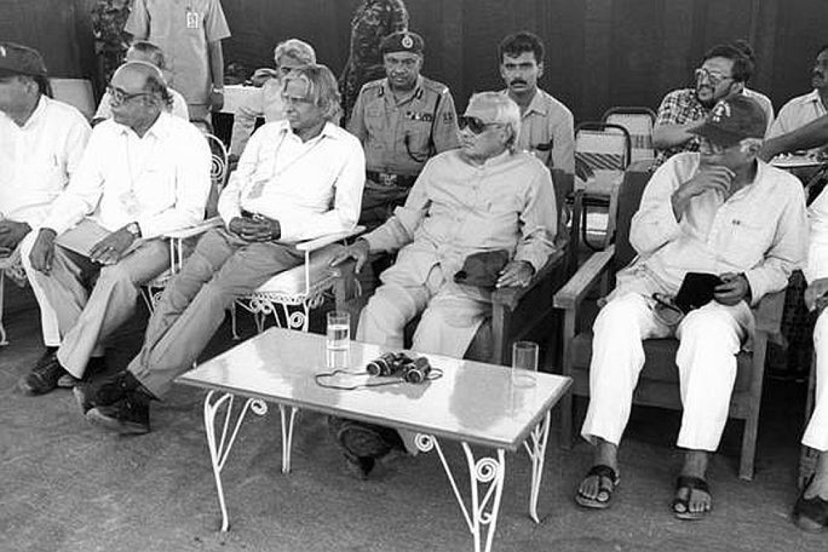 India conducted Pokhran-II tests, a series of three nuclear explosions on May 11, 1998 at the Indian Army's Pokhran Test Range in Rajasthan under the leadership of the then PM Atal Bihar Vajpayee