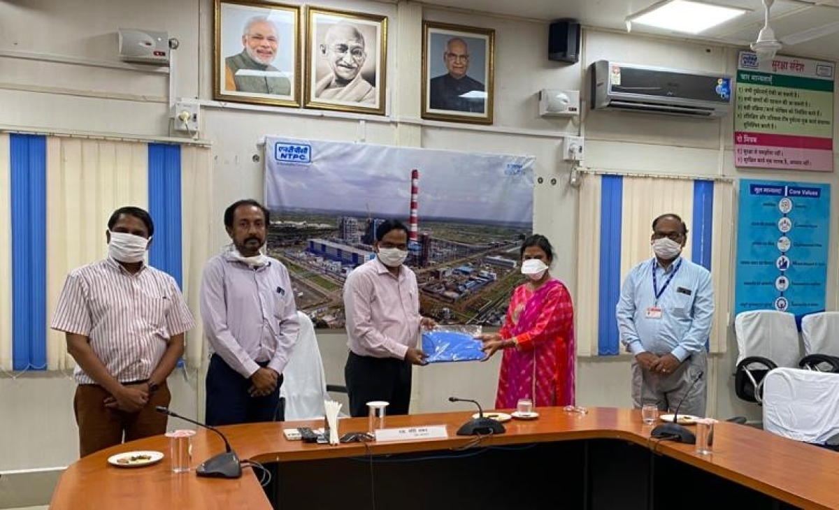 NTPC-Solapur provides PPE kit to Primary Health Center