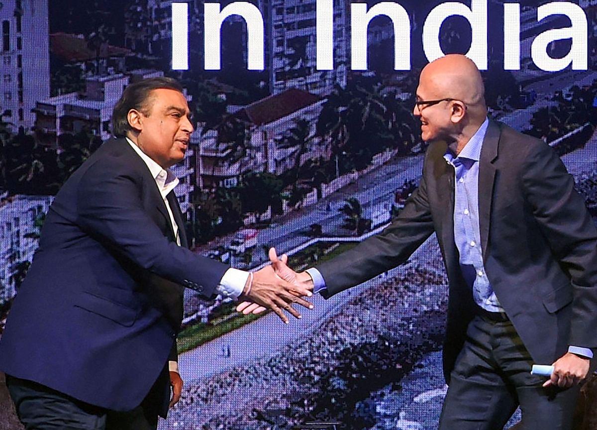 Microsoft eyes $2 billion investment in Mukesh Ambani's Reliance Jio: Report