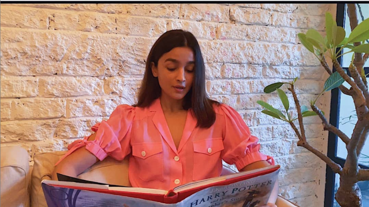 Alia Bhatt joins 'Harry Potter at Home' initiative