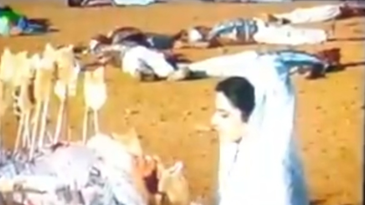 Watch: 'Mahabharat' viewer shares hilarious clip of 'dead soldier coming back to life' to fix his headgear