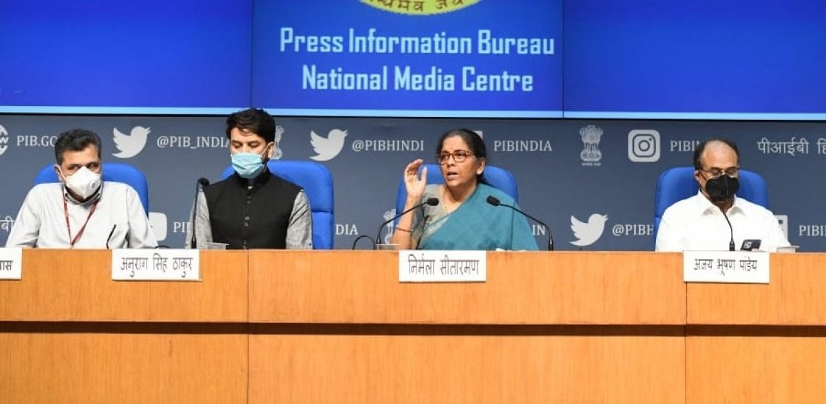 No fresh insolvency proceeding will be allowed for up to one year: Nirmala Sitharaman