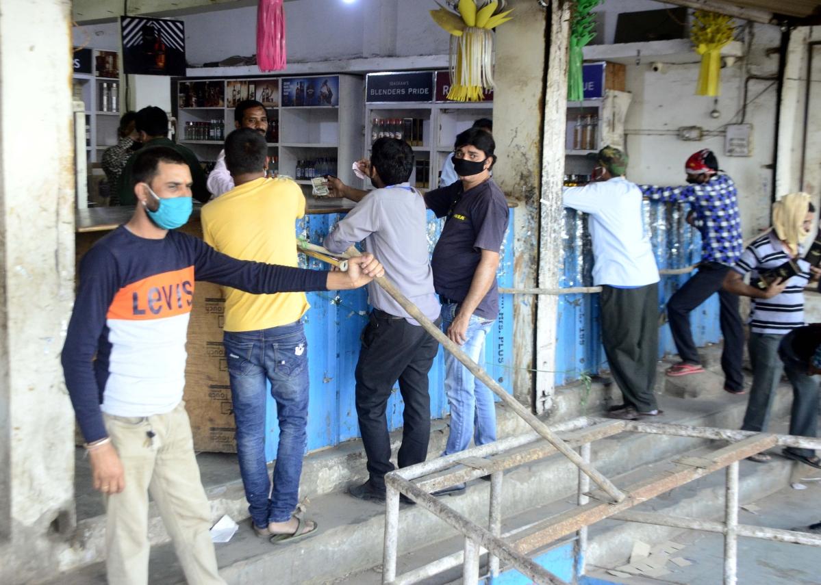 Khandwa liquor shop