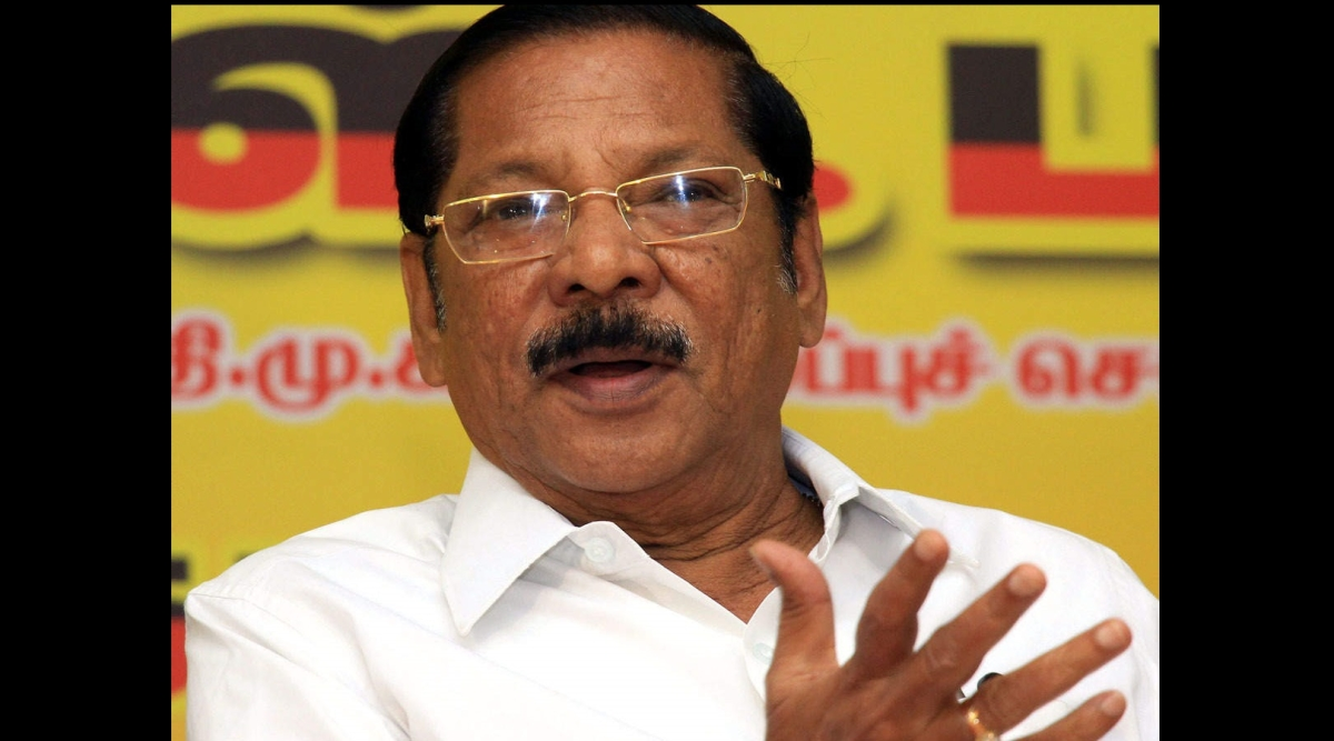 DMK leader R S Bharathi held for alleged remarks against SC community, gets interim bail