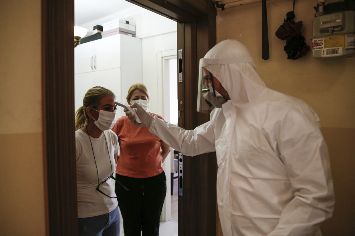 In Turkey, there are hazmat-suited corona detectives
