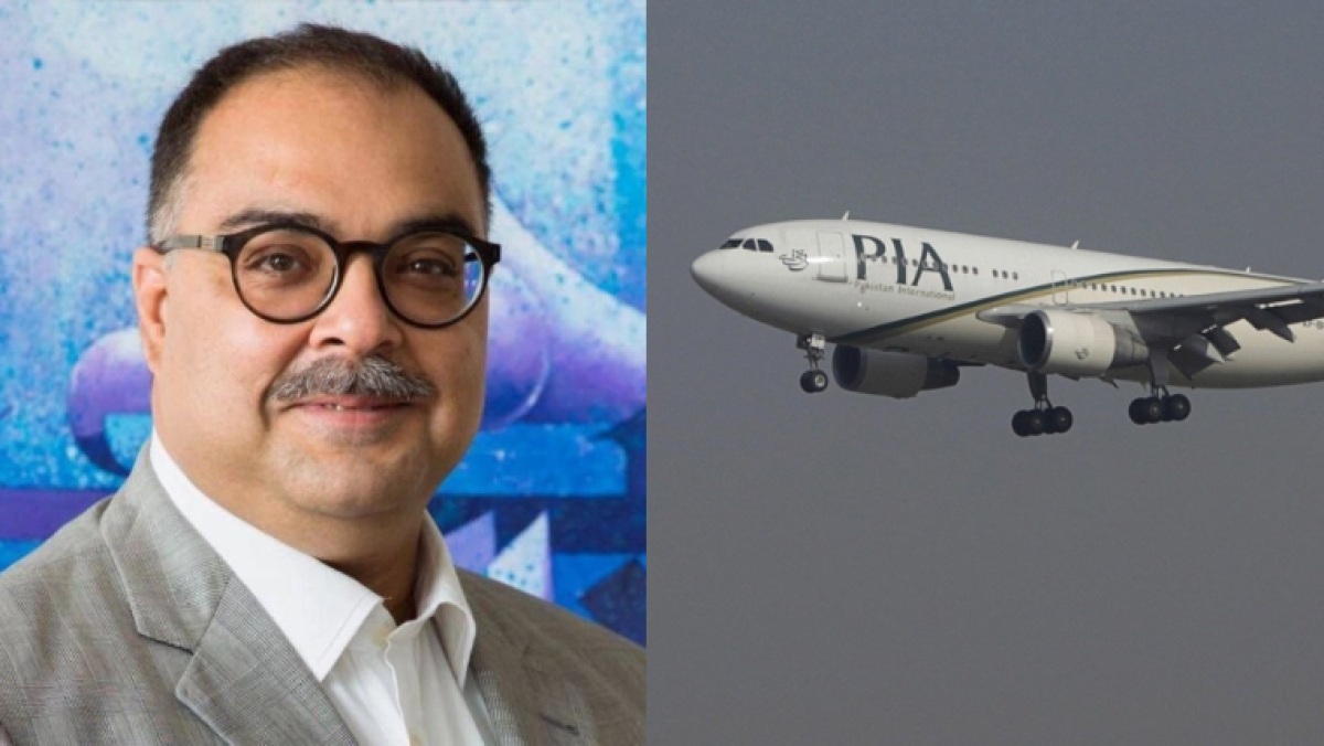 Head of Pakistan's Bank of Punjab among two survivors of PIA plane crash near Karachi airport