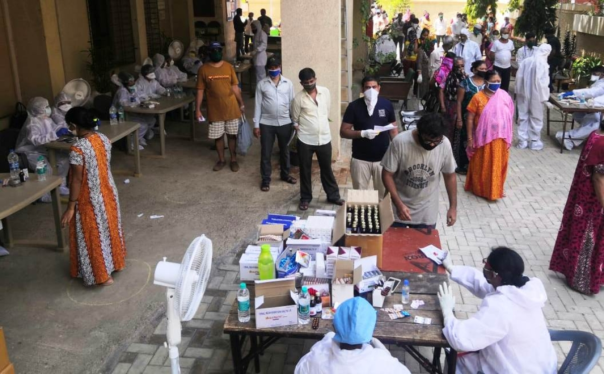 Coronavirus Update: Growth rate of COVID-19 cases show downward trend in Mumbai