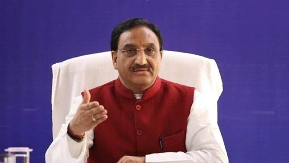 Union HRD Minister Ramesh Pokhriyal Nishank announces exam dates for JEE Main and NEET 2020