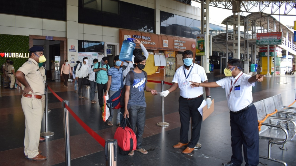 SWR operates Shramik special with 1452 passengers from Hubballi to Jodhpur