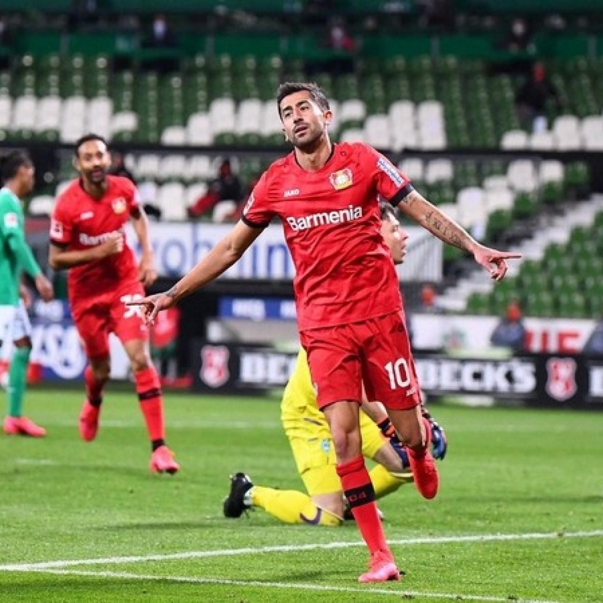 Bundesliga: Bayer Leverkusen thrash Werder Bremen by 4-1