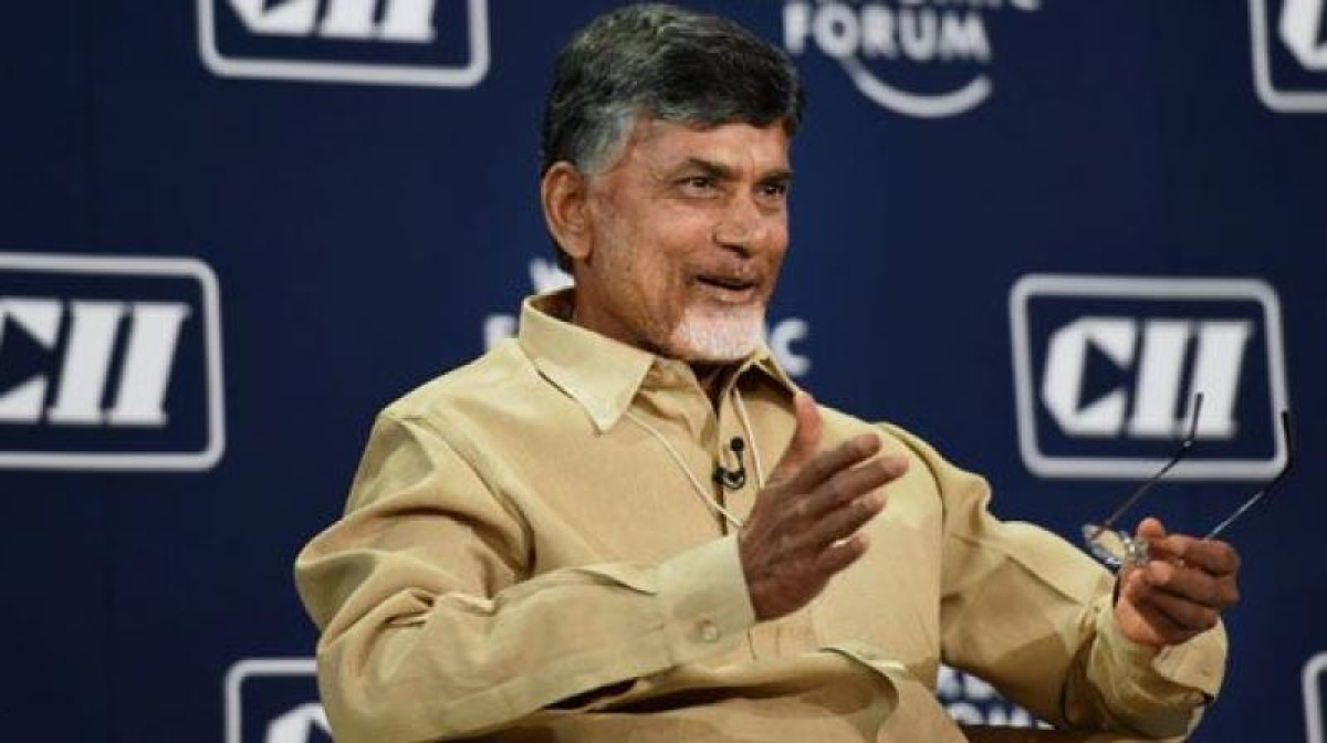 After Sadananda Gowda, Chandrababu Naidu flouts lockdown norms; social distancing goes for a toss as supporters gather to welcome him