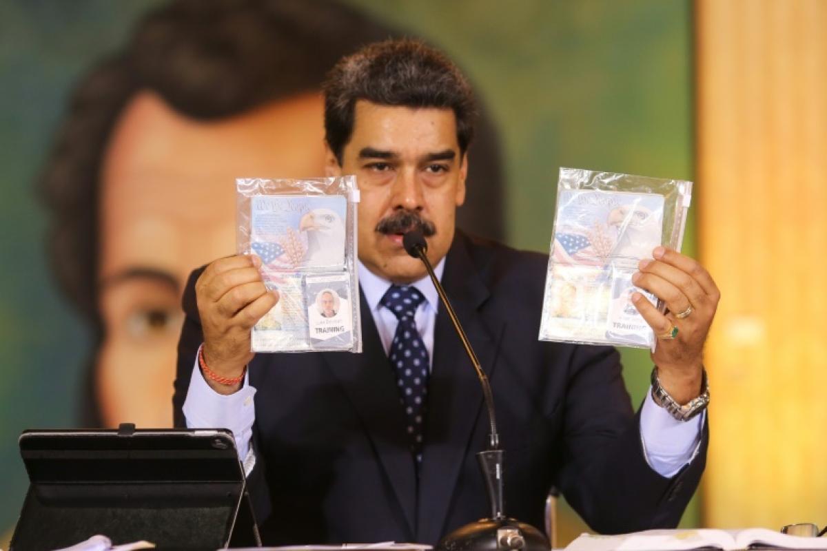 Venezuelan President Nicolás Maduro