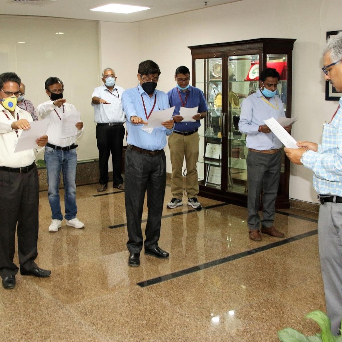 NHPC observes Anti-Terrorism Day