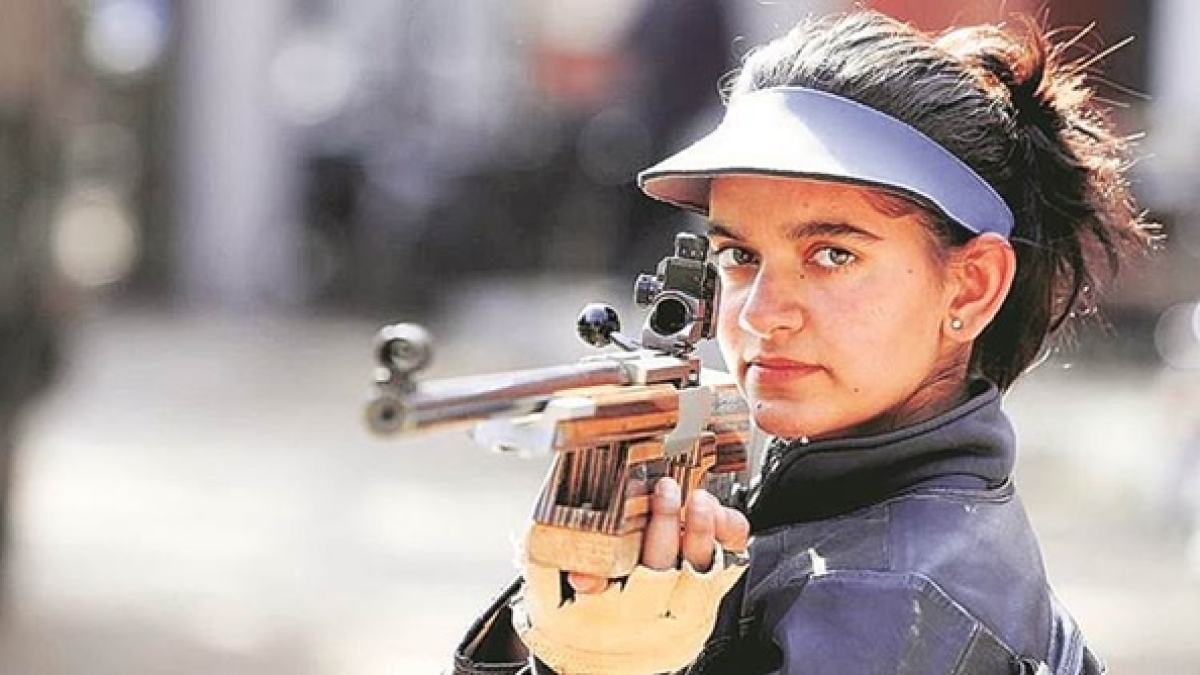 Off range, but on target at home, Olympian Anjum Moudgil has currently trained her sights on dancing