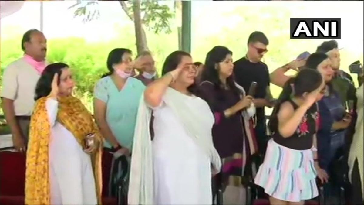 Col Ashutosh Sharma's family pay tribute to him