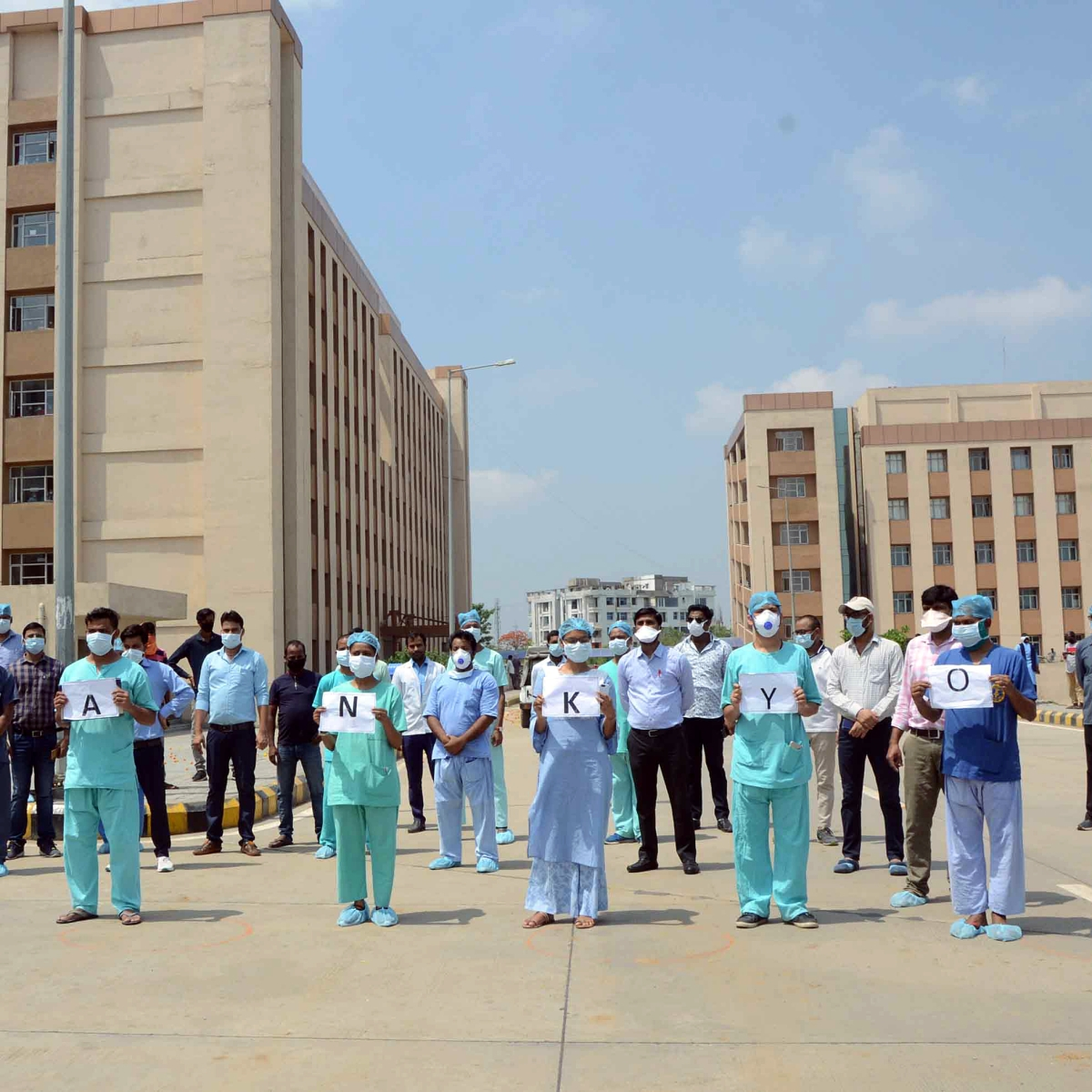 Madhya Pradesh: AIIMS seems to be off-limits for a common Covid patient